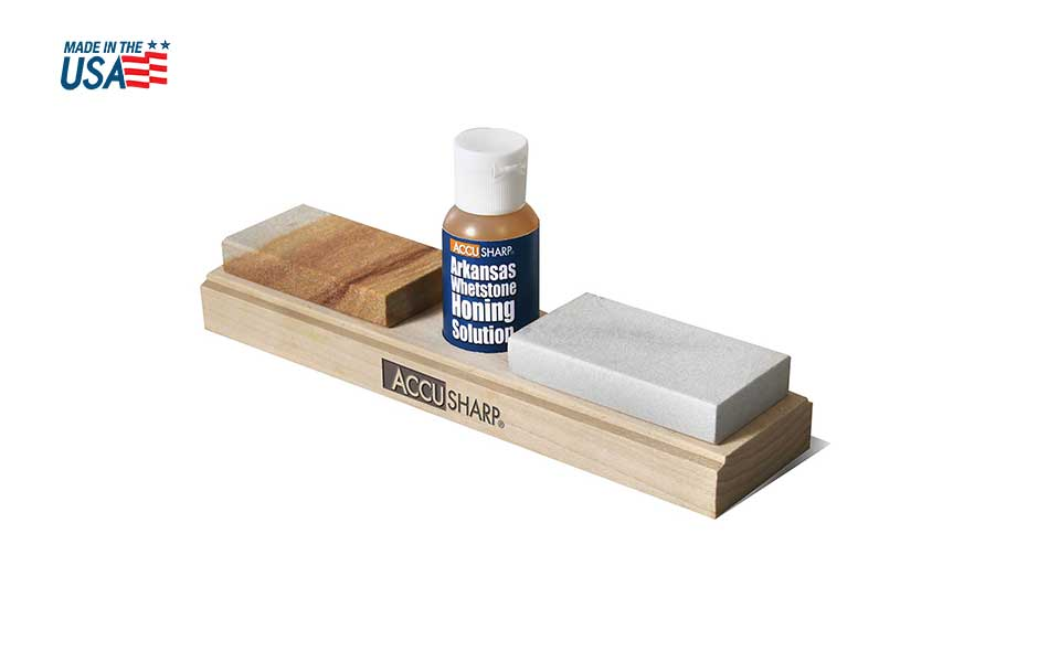 AccuSharp® Arkansas Whetstone Combination Knife Sharpening Kit 023